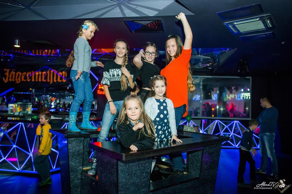 фотосессия в ночном клубе