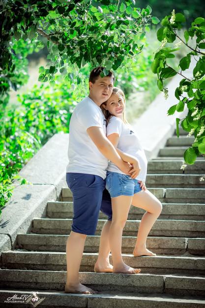 фотосессия беременности