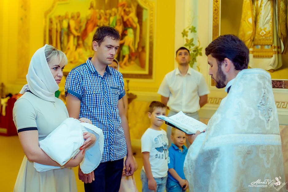 крещение ребенка