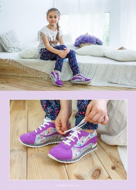 рекламная фотосъемка детской обуви