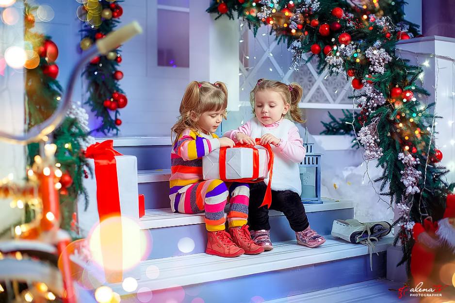 новогодняя фотосессия для деток фото