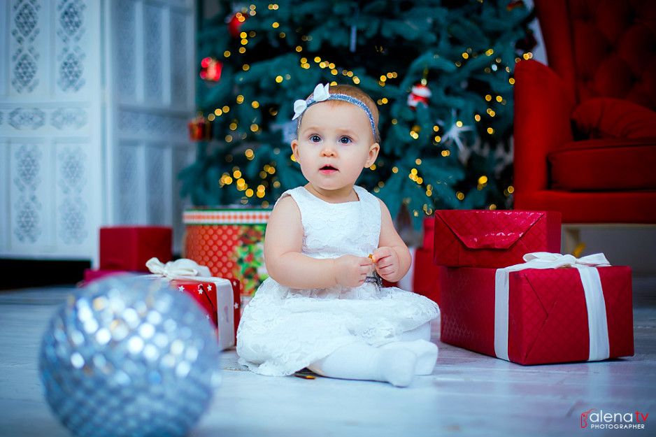 фотосъемка деток в новогодних студиях