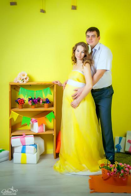 фотосъемка будущих мамочек