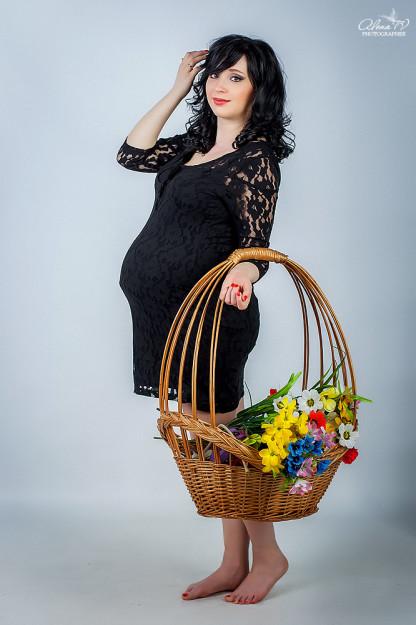 беременная фотосъемка