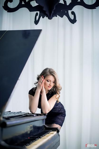 фотосессия с роялем