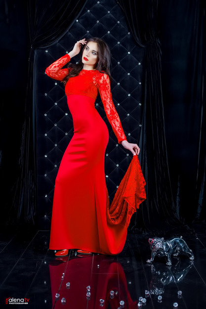 фотопроект lady in red