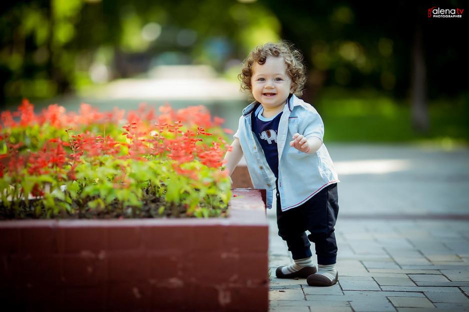 детская фотосессия в парке им. М. Островского
