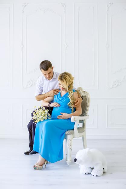 фотосъемка беременных в студии