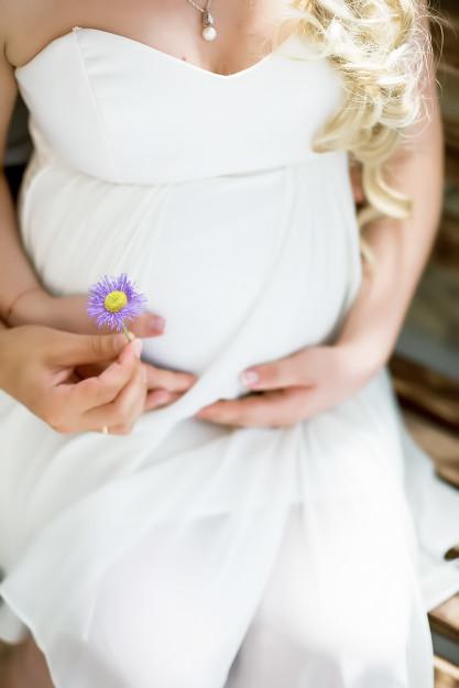 нежная фотосессия беременности