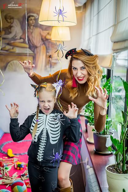 фотограф на праздник хеллоуин