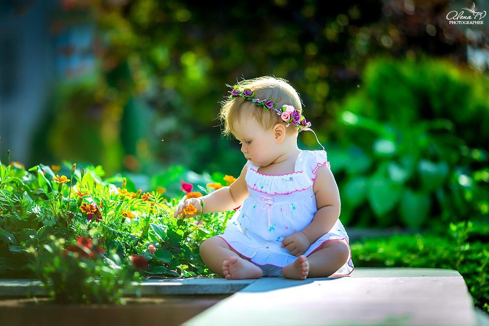 фотосъемка малышей на улице