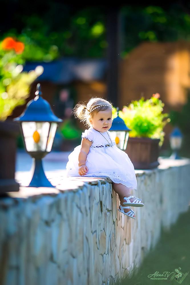 фотосъемка малышей в парке