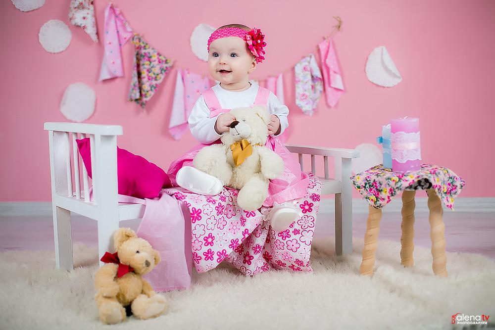 детская студийная фотосессия девочки