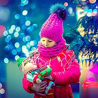 фото детей зимой на улице