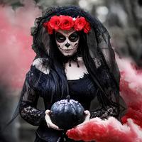 miniatyura-fotosessiya-halloween-santa-muerte
