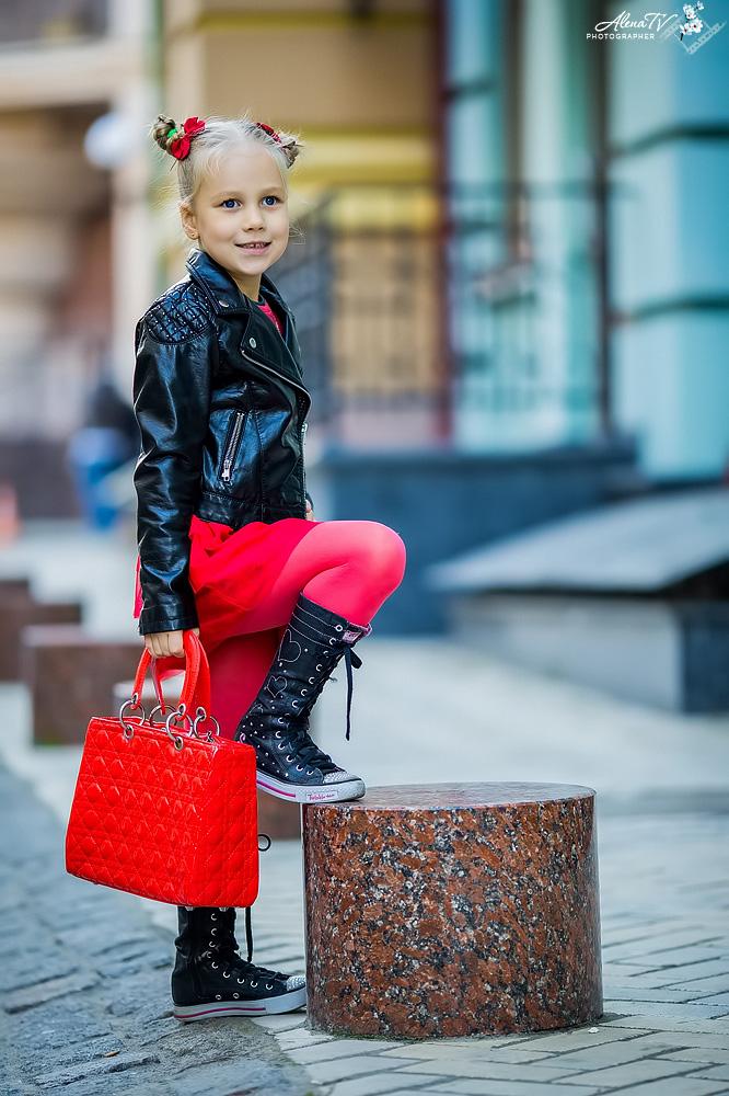 стилизованная фотосъемка девочки