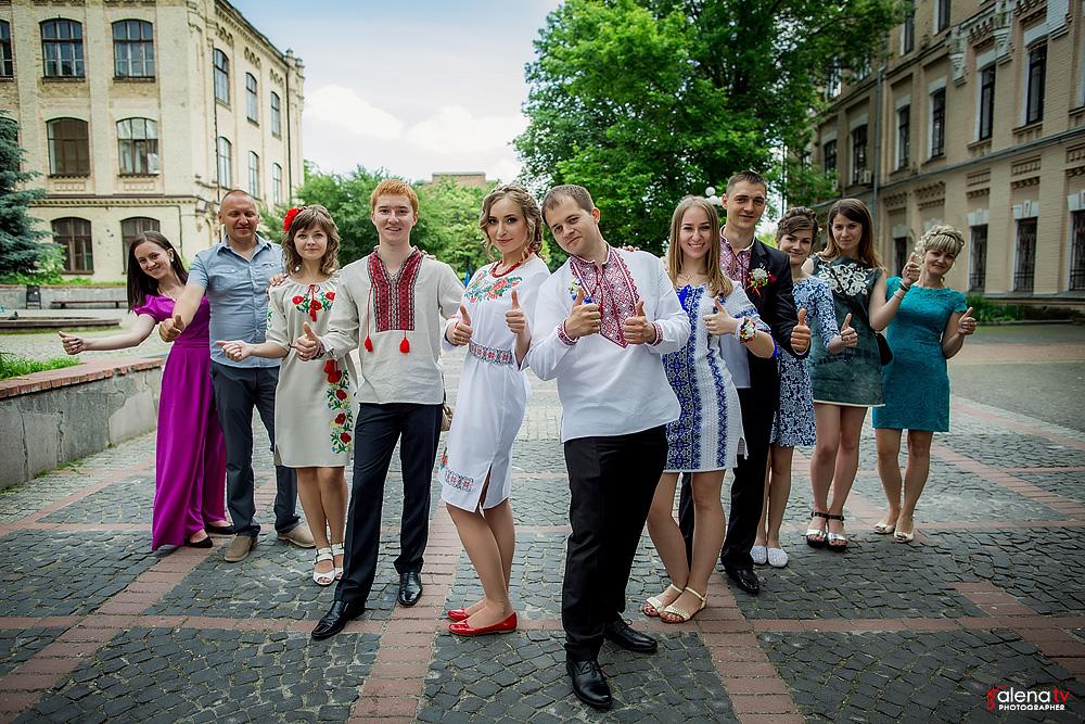 свадьба жениха и невесты в украинском стиле