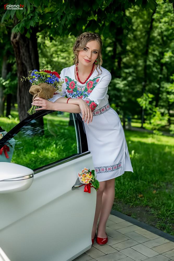 красивая свадьба в украинском стиле