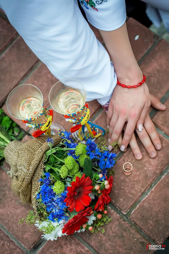 современная свадьба в украинском стиле