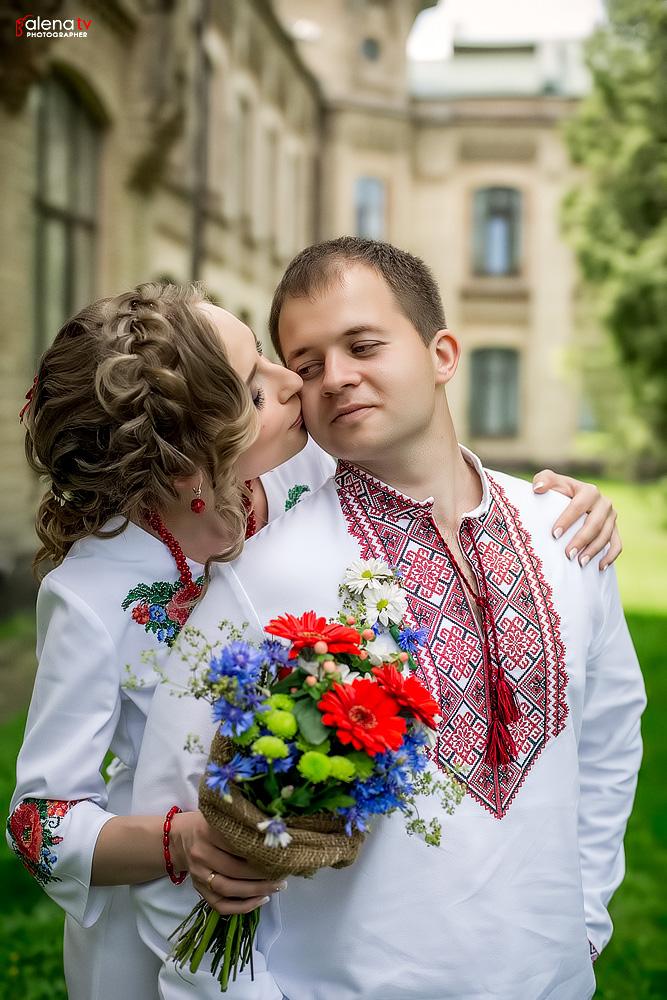свадьба в украинском традиционном стиле