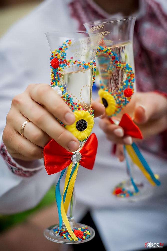 свадьба в украинском стиле оформление