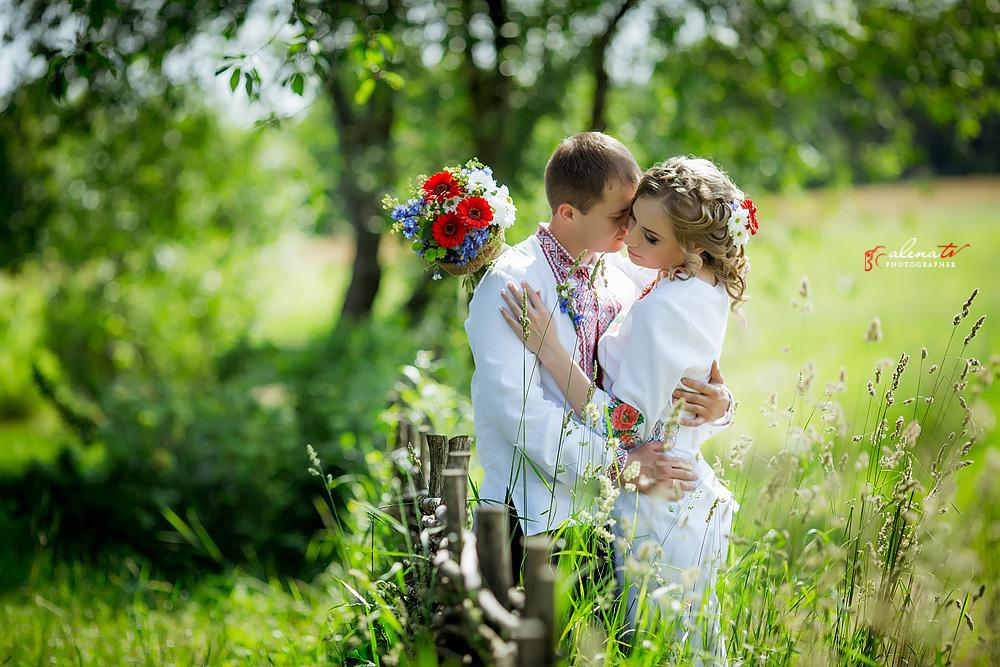 свадьба в украинском тематическом стиле