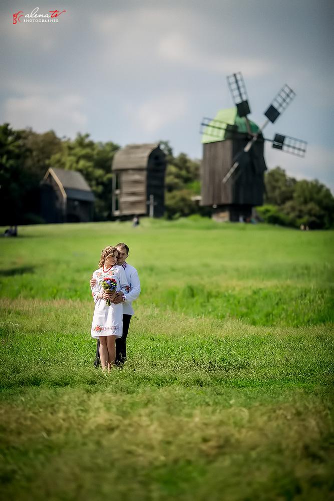 свадьба в украинском стиле в Пирогово