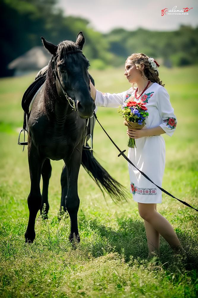 летняя свадьба в украинском стиле