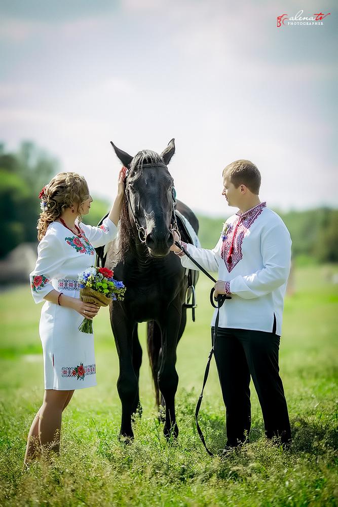 свадьба в украинском стиле летом