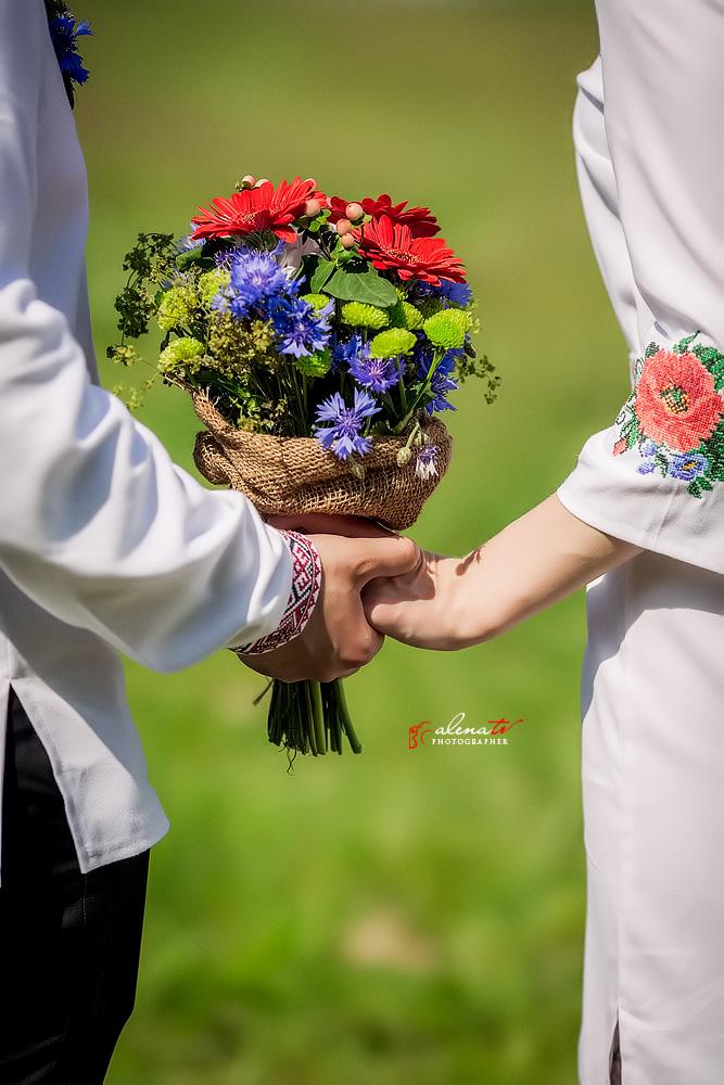 свадьба летом в украинском стиле