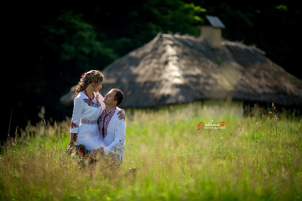 фотосъемка свадьбы в украинском стиле