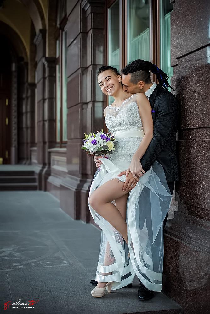 студийная свадебная фотосъемка в Киеве