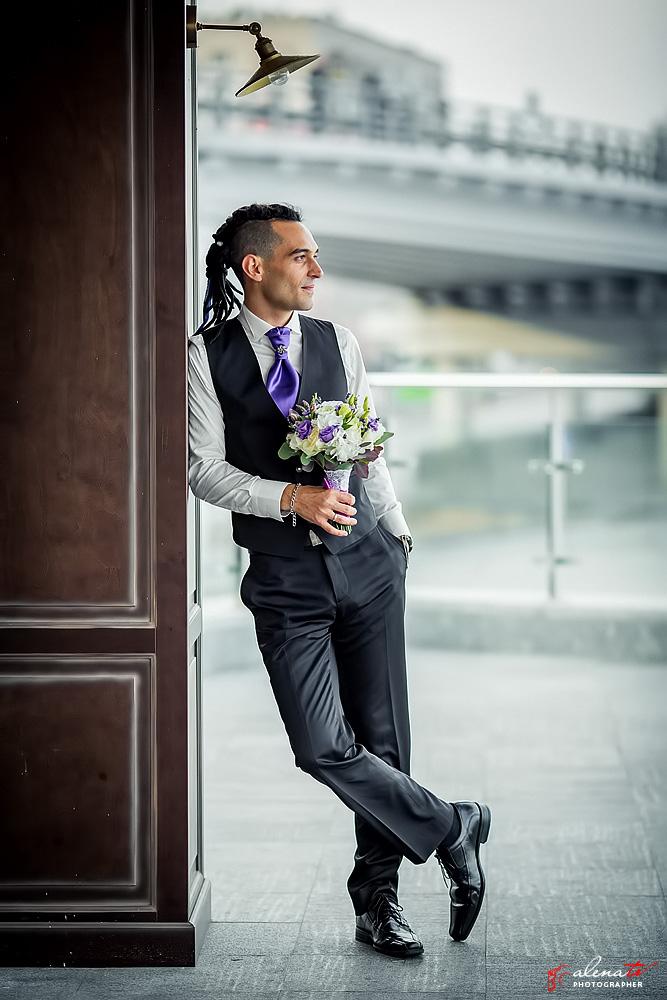 свадебная фотосъемка жениха