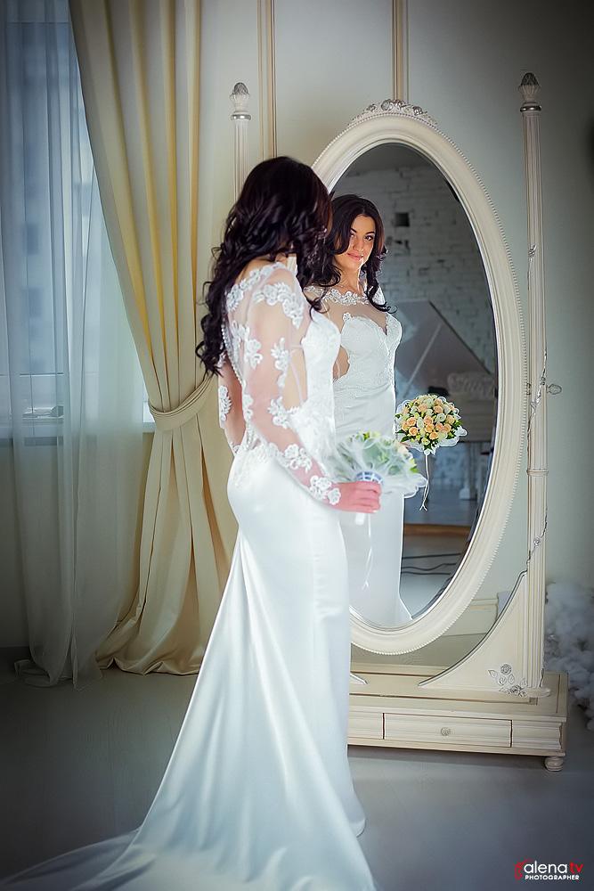 студийная свадебная фотосессия в Киеве