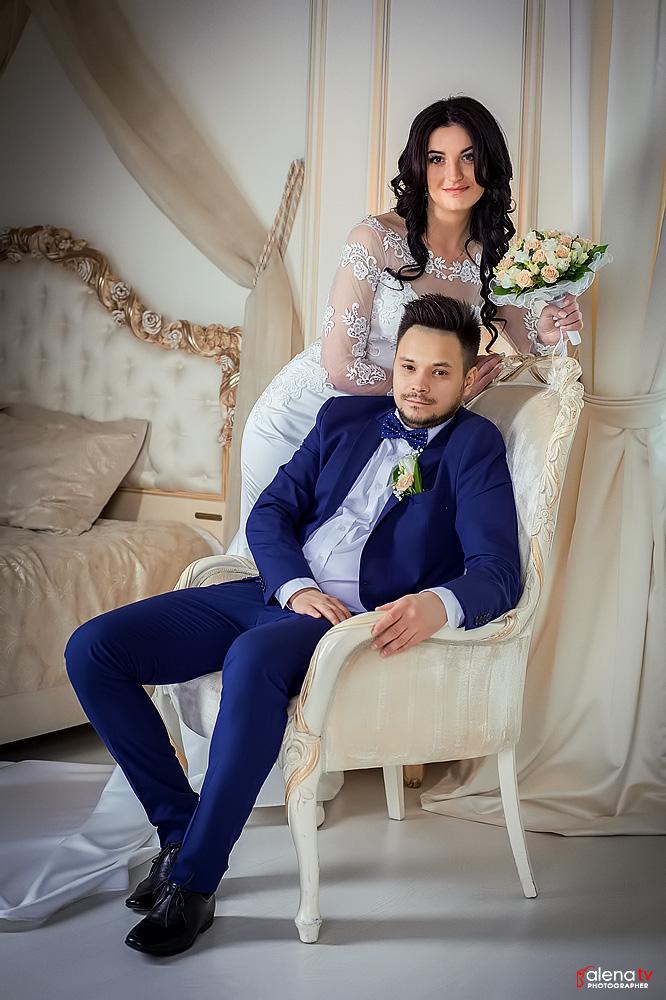 свадебная фотосессия молодых