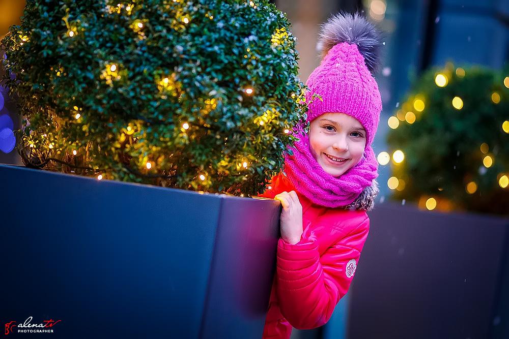 зимняя фотосессия девочки фото