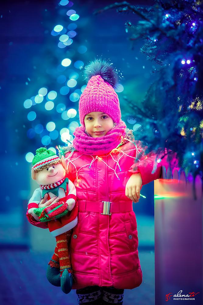 фото девочки зимой